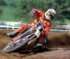 Gaston Rahier Gilera 125 1981
