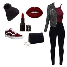 """Untitled #86"" by orz13q on Polyvore featuring LE3NO, Vans, Lime Crime, NARS Cosmetics and Miss Selfridge"