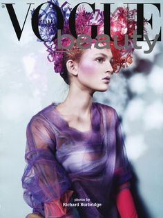 "Vogue Italia May 2008 ""Vogue Beauty"""