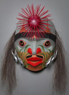 Chief of the Sea by Lonni Acord - northwest coast mask