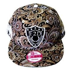 b68fff5d1cd Image of F2D NEW ERA PAISLEY SNAPBACK. SnapbackPaisleySnapback HatsSnapback capBaseball  hat