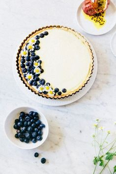This tasty passionfruit and blueberry tart recipe will satisfy the sweetest of teeth. The perfect dessert? We think so!