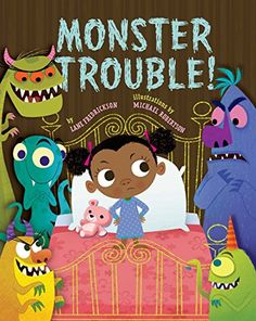 Monster Trouble!: Lane Fredrickson, Michael Robertson: 9781454913450: Amazon.com: Books