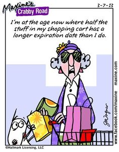 Expiration Date... Maxine's Crabby Road