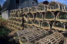 Lobster Traps Prince Edward Island