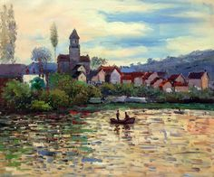 Wall Art: Monet - The Seine at Vetheuil