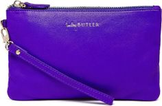 The purse that charges your phone Icy Purple Goat Leather. Price US$99.95  absolutely neeeeeeed