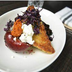 Beet risotto cake! Mmm. From @whiterosecalgary.  http://ift.tt/28Tc2a4 #yyc #calgary #yyceats #yycfood #foodyyc #yycfoodie #eatdrinkplayyyc #captureyyc #foodies #foodporn #gastropostyyc #403photogang #calgaryfood #sharecalgary #socalitycalgary #instagood #picoftheday