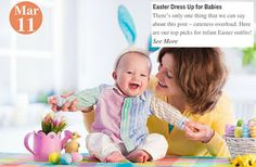 Easter Baby Love Easter Dress Up for Babies. See more: www.teelieturner.com   There's only one thing that we can say about this post – cuteness overload. Here are our top picks for infant Easter outfits! #fashion