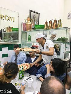 Pizza Napolitana en Da Michele