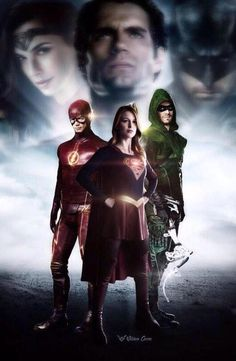 Marvel Vs, Marvel Dc Comics, Captain Marvel, The Cw, The Flash, Hq Dc, Dc World, Dc Tv Shows, Supergirl And Flash