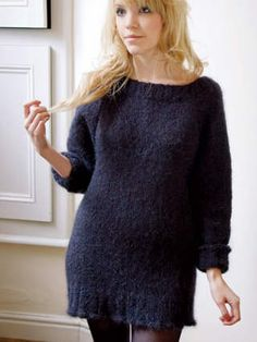 Knitting pattern Sid by Kim Hargreaves (Precious)