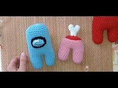 Among Us - Amigurumi - TUTORIAL - Cómo hacer tripulante Among Us - técnica crochet. - YouTube