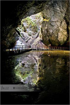Reflections @ Scarisoara Cave | Transylvania