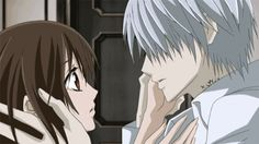 """""""I—I want this. I want her gentle hands…her smile…"""" aaawwhh Zero!! VK was just beautiful! Team ZeroxYuuki"""