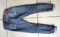Fade Friday – Samurai Jeans Co. S710XX (5 Months, 3 Washes)