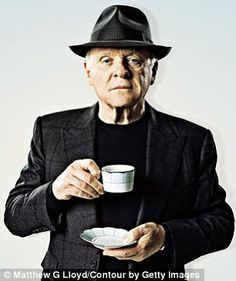 Sir Anthony Hopkins in an interview. This links to the article. #tea