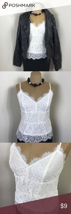 Lace Cami NWT Lace Cami- LARGE Cecico Tops Camisoles