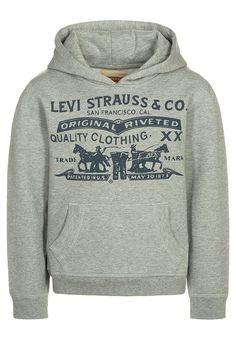 Bestill  Levi's® WILL - Hoodie - grey for kr 399,00 (16.04.17) med gratis frakt på Zalando.no