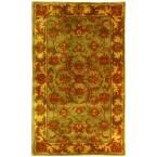Heritage Green/Gold 2 ft. 3 in. x 4 ft. Area Rug