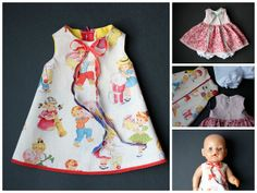 Sewing for Baby Born doll