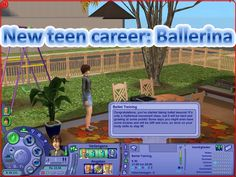 ModTheSims - New teen career: Ballerina (requested) + Spanish