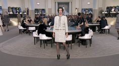 New Chanel Haute Couture Fall-Winter show. One word: Chanel! Chanel Couture, Style Couture, Haute Couture Fashion, Karl Lagerfeld, Moda Chanel, Mademoiselle Coco, Chanel News, Chanel 2015, Chanel Official Website
