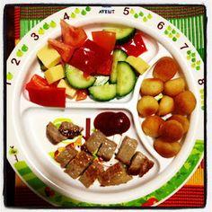 Easy Toddler Food - Minute Steaks