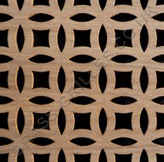 Farnham Oak Veneered MDF decorative screening panel. This decorative grille panel is ideal for grilles in radiator covers, cabinet and door inserts, custom ventilation and general interior screening. Product Ref. VOFH. Sheet Size: 6ft by 2ft (4mm thick).