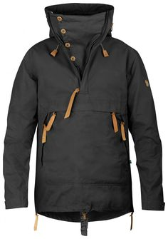 Fjallraven Anorak No. 8 in black