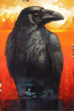 The Raven of Jackson Lake by Craig Kosak by carter flynn