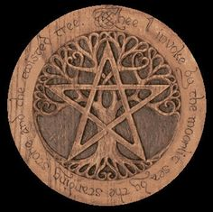 Patens at New Moon Occult Wicca Witchcraft Pagan Shop Hamsa Tattoo, Tattoo Tree, Pentacle, Pagan Shop, Halloween History, Symbole Viking, Wiccan Symbols, Wiccan Art, Religion