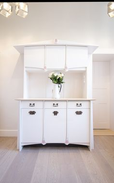 designed and handmade in edinburgh by robin j horn furniture design 2015 white painted ash cabinetry - Painted Wood Castle 2015