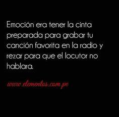 Emoción!