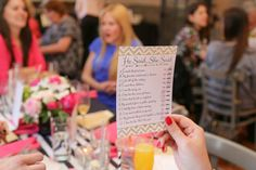 Create a fun and memorable hen party with these 14 lovely little touches!
