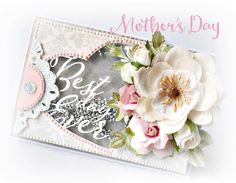 Gorgeous Shaker Cards for Mother's Day by Aria Hababicka for PRIMA - Wendy Schultz ~ Cards 1.