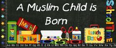 A Muslim Child is Born -- great resource for activities/lesson plans