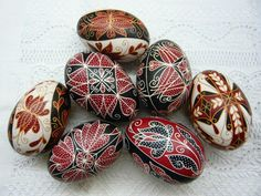 These appear to be modern variations on the traditional Hungarian eggs.