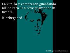Cartolina con aforisma di Kierkegaard (1)