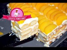 Şeftalili Kolay Pasta Tarifi - Leyla ile Yemek Saati