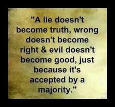 A majority with no principle but destruction.