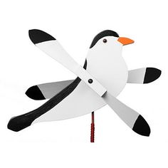 Want to add some dynamic movement and color to a planter, a shrub bed or the backyard garden? The Chickadee Whirly Bird Whirligig Wind Spinner is the perfect whirly bird for the job and is sure to add