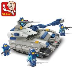 Cheap diy bricks, Buy Quality blocks army directly from China sluban building blocks Suppliers: Sluban 0205 261 Pcs Big Tank Building Block Army Building Block Eductional Sluban Building Block DIY Bricks Compatible With Lego
