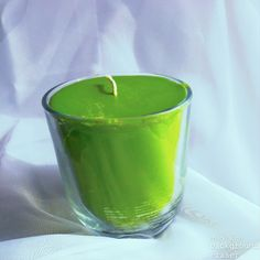 Limelight soy jar candle by KnumbSkull on Etsy