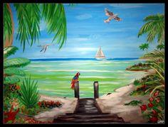 danpatrickpainting.com - Ocean City Maryland custom interior painting and murals