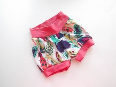 Toddler Shorts Baby Shorts Shorts for Girls Feather by ZigZagRags