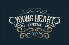 Young Heart font by Alit Design - FontSpace