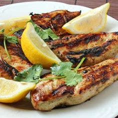 Greek Style Garlic Chicken Breast   If you're looking for a great tasting, tender chicken breast, this is what you're looking for - Greek style.
