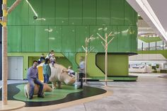 Designed by JCY Architects and Urban Designers, Cox Architecture, and Billard Leece Partnership, with HKS, the 298-bed Perth Children's Hospital is now operational.