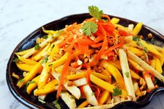 Mango & Jicama Salad...obviously, I am currently obsessed with fruits and vegetables.